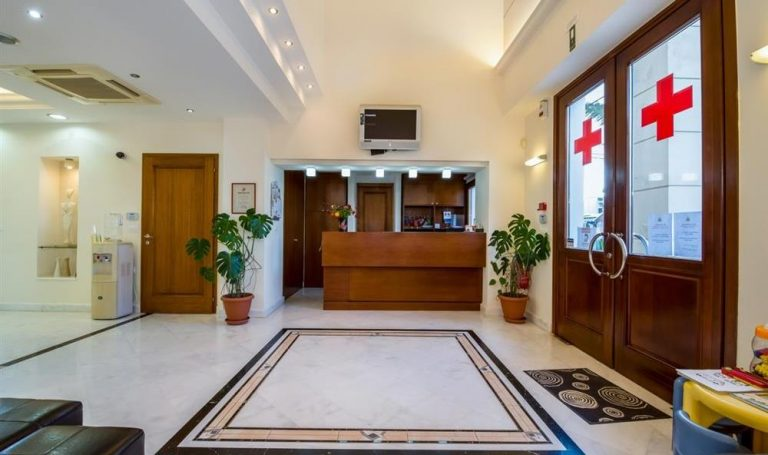 Polyclinic Vittorakis Crete Reception Enterance
